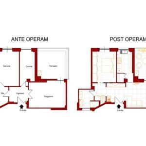 Appartamento Appio Latino 4 lavori in corso